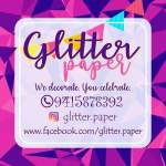 Glitter Paper Logo by Sanjivini