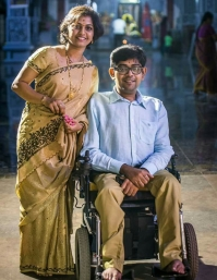 Shalini Visakan with her husband