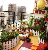 Image of a Balcony styled by Shradha